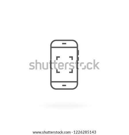 smartphone icon mobile phone
