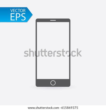 smartphone icon mobile symbol
