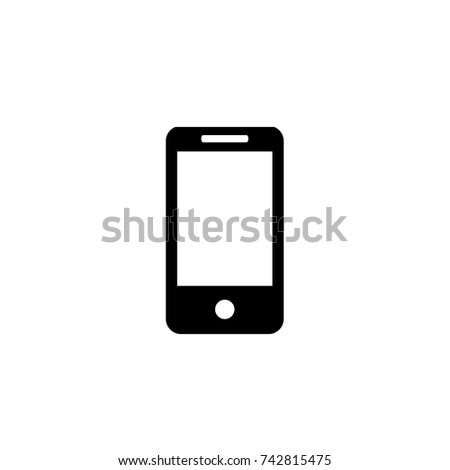 Smartphone icon, Smartphone icon vector, in trendy flat style isolated on white background. Smartphone icon image, Smartphone icon illustration