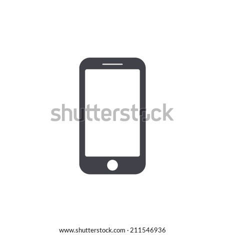 Shutterstock smartphone icon,vector illustration