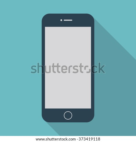 smartphone iphone icon in the
