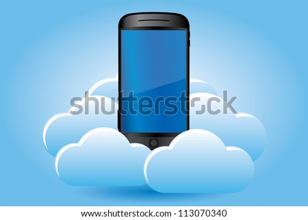 Smartphone on cloud