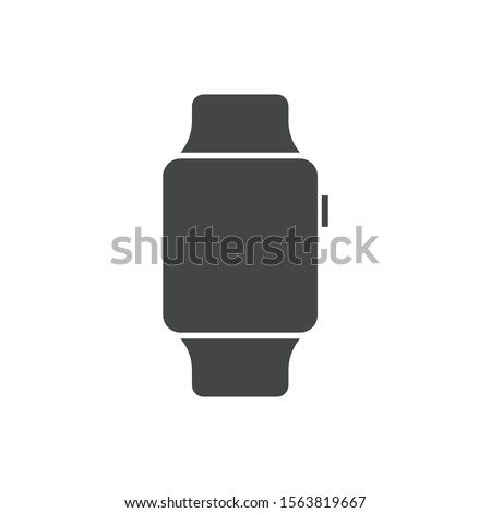Smartwatch icon isolated on white background. Apple watch symbol, modern, simple, vector, icon for website design, mobile app, ui. Vector Illustration