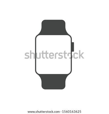 Smartwatch icon isolated on white background. Watch symbol modern, simple, vector, icon for website design, mobile app, ui. Vector Illustration