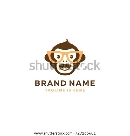 smile fun monkey chimp