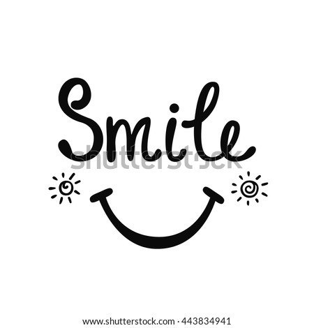 smile inspirational quote
