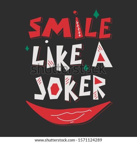 smile like a joker creative