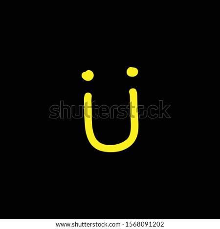 smile logo icon vector art