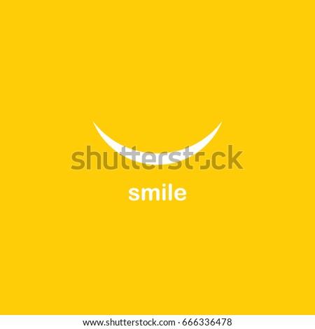 Smile Logo Vector Template