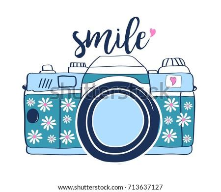 smile slogan handwriting and