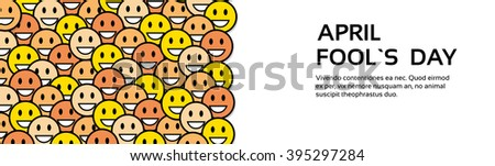 smile yellow faces fool day