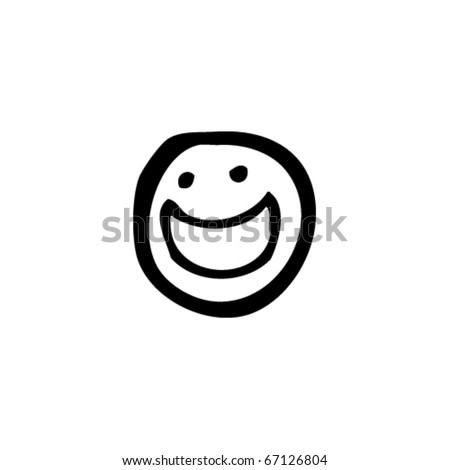 smiley face cartoon