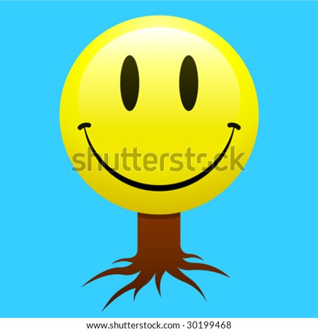 cute pics of smiley faces. stock vector : Smiley face