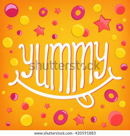 smiley icon yummy log