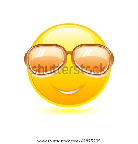 Emoticons With Sunglasses