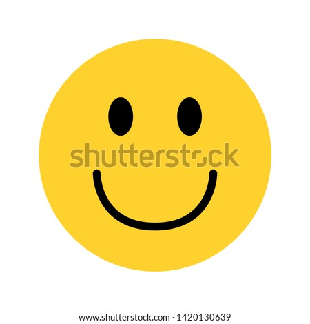 smiley yellow face emoji on