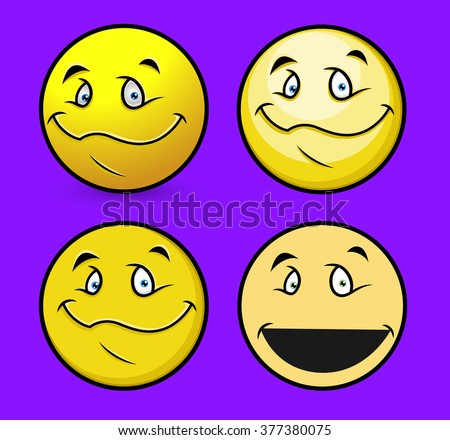 Smiling Face Emoticons