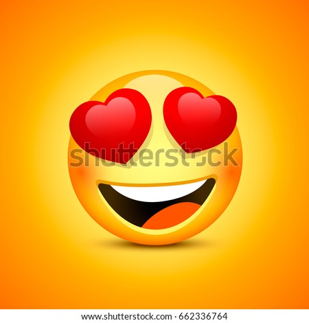 smiling face emotions love