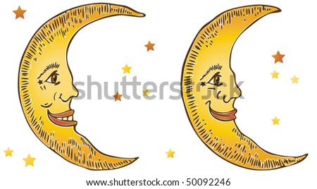 Smiling Moons