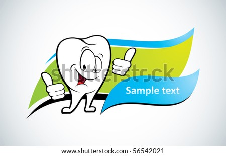 Smiling tooth