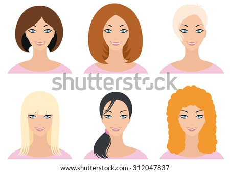 smiling woman's face redheaded