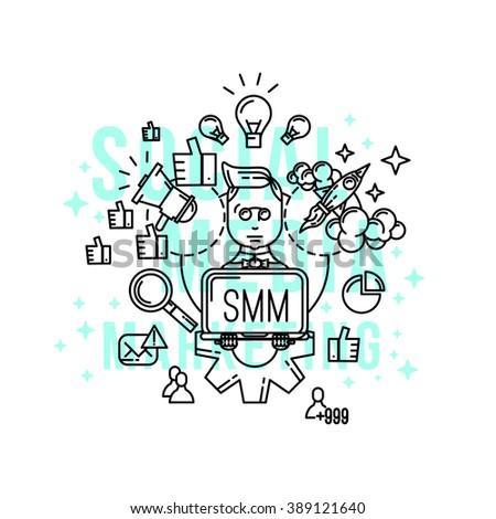 smm  specialist   social media