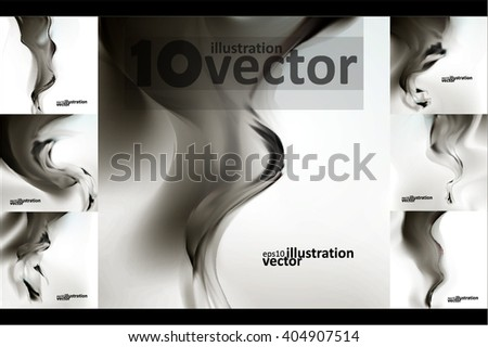 smoke background abstract