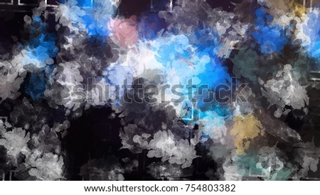 smoke colors combine artwork