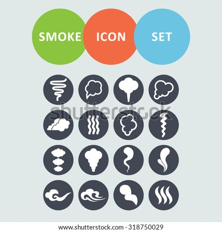 Smoke icons for site