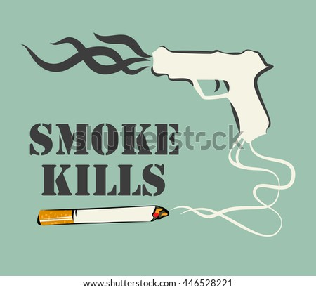 smoke kills poster smoking
