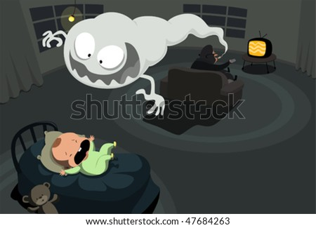 smoke monster haunting little
