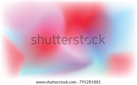 Stock Photo Smoke with pink and blue spots