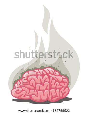 smoked brain