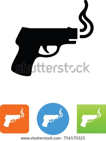smoking gun icon