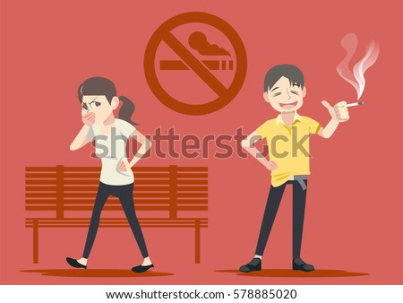 smoking in public places