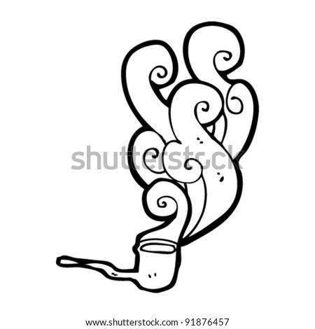 smoking pipe cartoon
