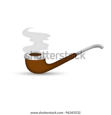 Smoking Pipe Illustration
