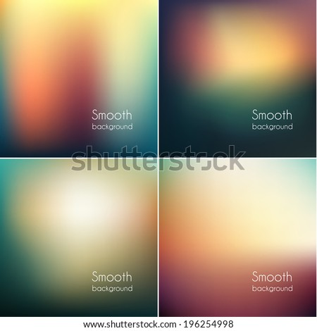 smooth abstract colorful
