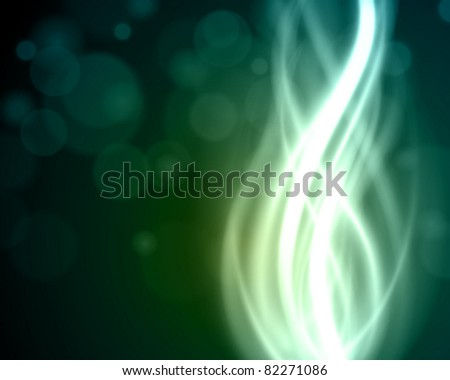 Smooth light lines vector background eps 10
