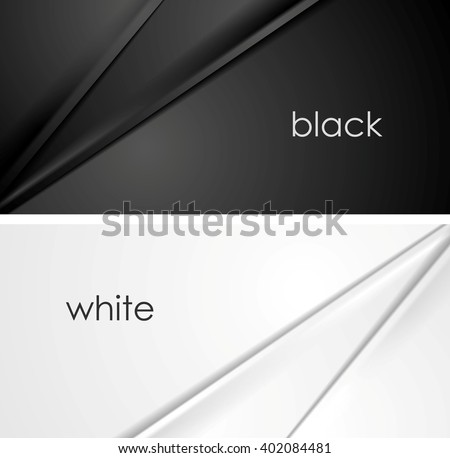 smooth silk lines black and