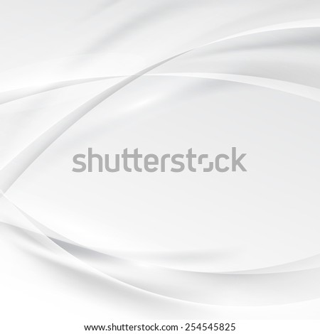 Smooth swoosh abstract modern grey border line background. Vector illustration
