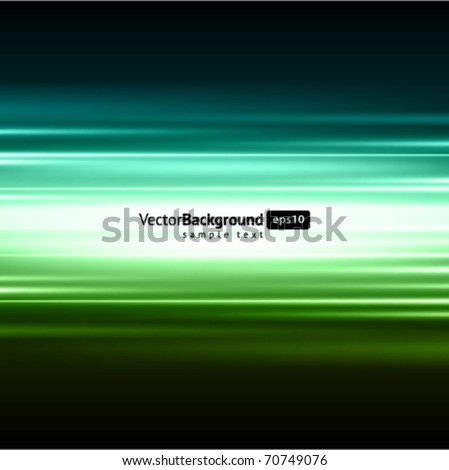 Smooth technology light lines vector background