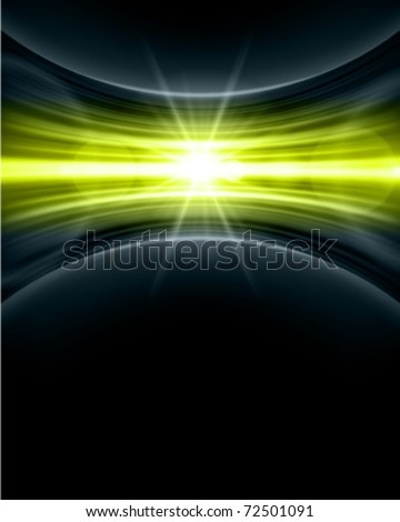 Smooth technology light lines vector background. Eps 10. - stock vector