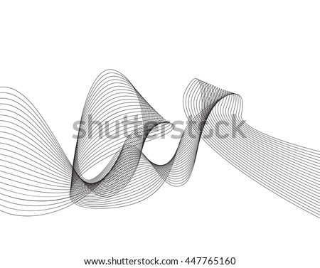 smooth wavy lines  wave
