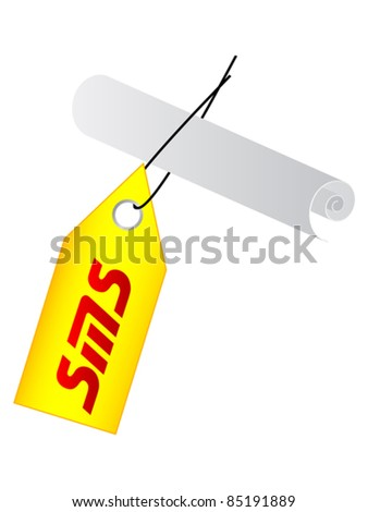 sms label