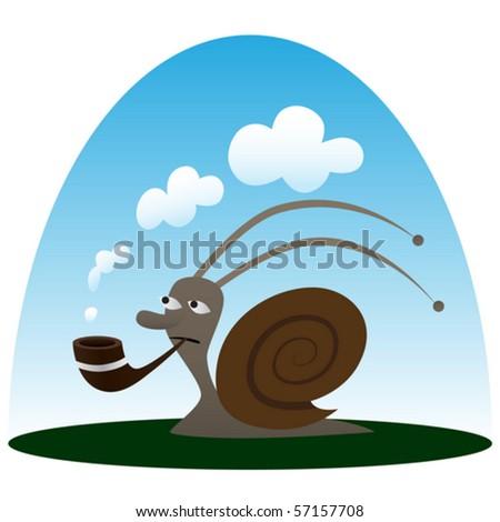 pipe smoking snail wallpaper - photo #34
