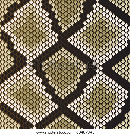 snake skin pattern for design