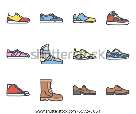 a16fe64c23 Shoes Icons - Download Free Vector Art
