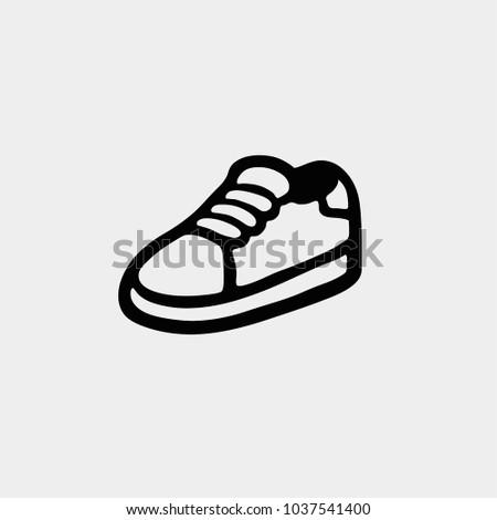 Snicker icon. Vector snicker. Sportwear