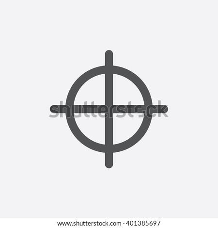 sniper aim icon sniper aim